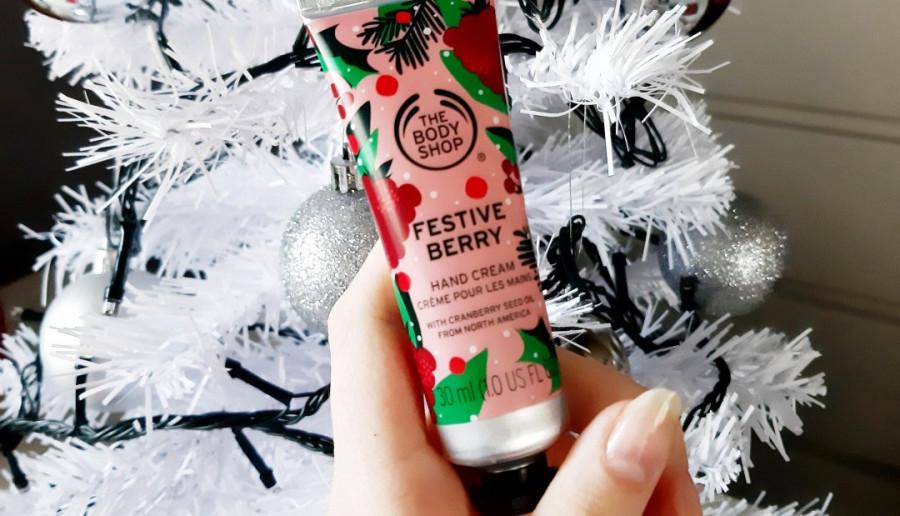 The Body Shop - Krem do rąk, Festive berry.