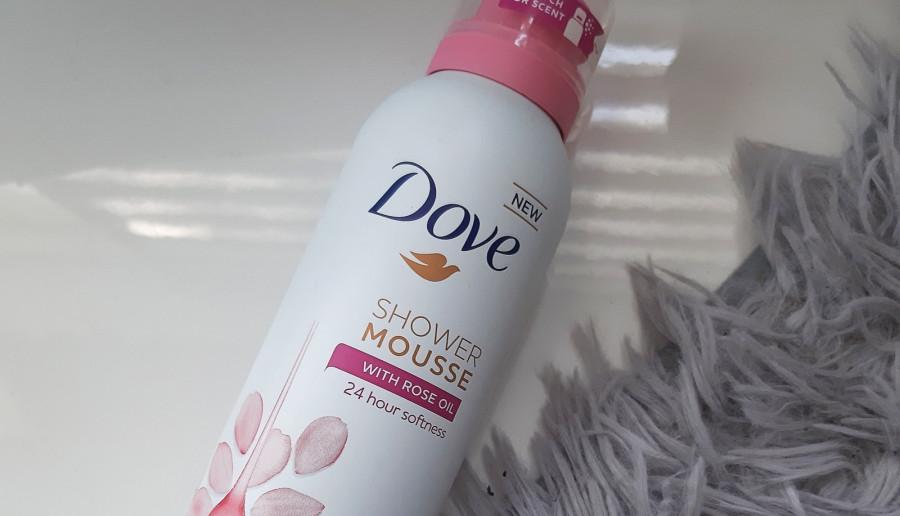 Dove - Shower mousse, Pianka do golenia i pod prysznic, Rose oil