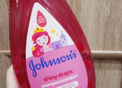Johnson`s - Szampon do włosów, Shiny Drops.