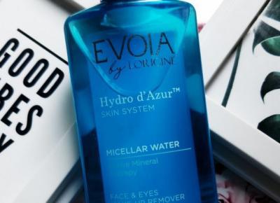 Evoia by Lorigine - Hydro d'Azur, Micelar Water, Płyn micelarny do twarzy i oczu, Active Mineral Therapy.