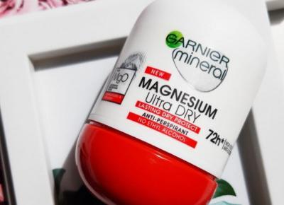 Garnier - Mineral, Antyperspirant w kulce 72h, Magnesium Ultra Dry.