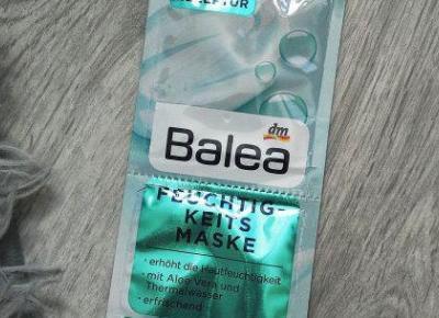 Balea - Maseczka do twarzy, Feuchtigkeits maske.