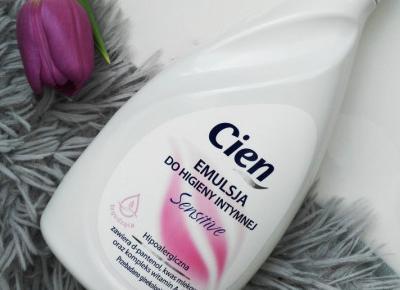 Cien - Emulsja do higieny intymnej, Sensitive