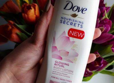 Dove - Nourishing Secrets, Balsam do ciała, Glowing Ritual, Kwiat lotosu. B