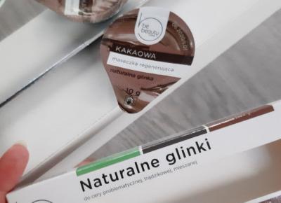 BeBeauty - Care, Maseczka do twarzy, W kapsułce, Kakaowa, Regenerująca, Naturalna glinka.