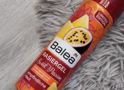 Balea - Żel do golenia, Sweet Passion
