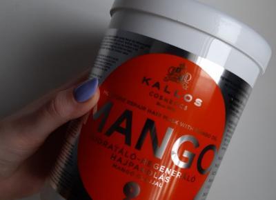 Kallos - Maska do włosów, Mango.