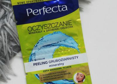 Perfecta - Oczyszczanie, Peeling gruboziarnisty, Mineralny.