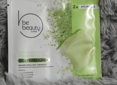 BeBeauty - Care, Maseczka do twarzy, Oczyszczająca, Naturalna moc zielonej glinki.