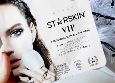 StarSkin - Maseczka do twarzy w płatkach, VIP, 7 - Second Luxury All Day Mask, 7w1.