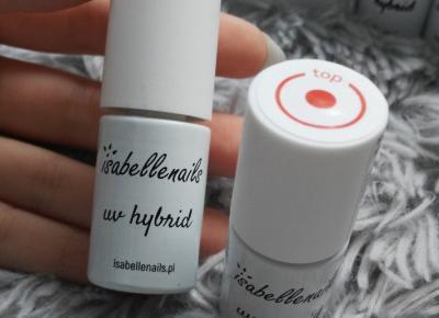 isabellenails - Lakier hybrydowy, Top, No Wipe.