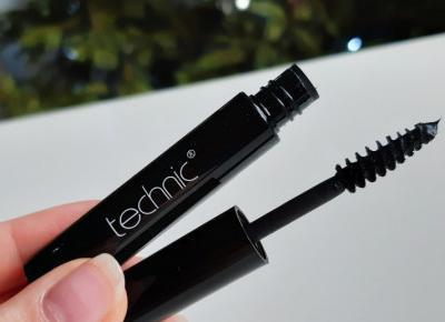 Technic - Mascara, Tusz do rzęs, Black, czarny.