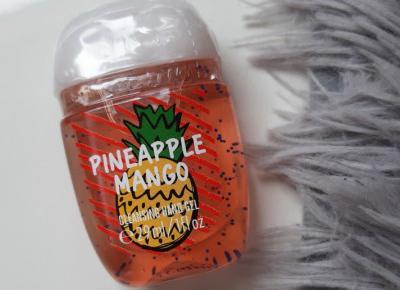 Bath & Body Works - Żel antybakteryjny, Pineapple Mango.