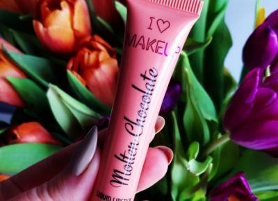 Makeup Revolution - I Heart Makeup, Pomadka w płynie, Molten Chocolate, Dipped.