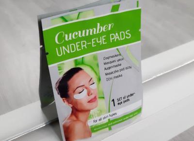 Mascot Europe - Cucumber Under-Eye Pads, Płatki pod oczy, Każdy typ skóry, Ogórkowe.