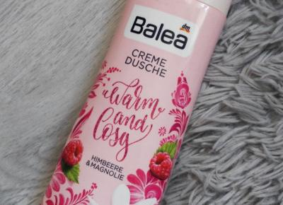 Balea - Żel pod prysznic, Warm and Cosy, Malina & magnolia.