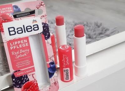Balea - Pomadka ochronna do ust, Red Berry Splash.