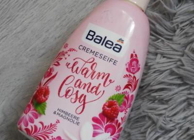 Balea - Mydło w płynie, Warm and Cosy, Malina & magnolia.