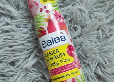 Pianka do golenia Fruity Kiss z Balea.