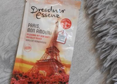 Dresdner Essenz- Puder do kąpieli, Paris, Mon Amour!