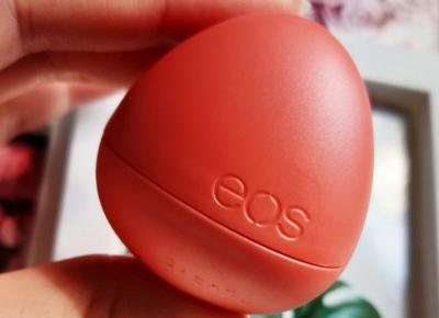 EOS - Balsam do ust, Lip Balm, Crystal, Melon Blossom.