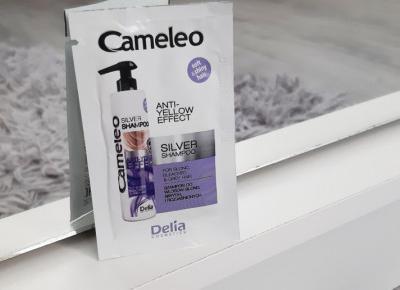 Delia - Cameleo, Szampon do włosow, Silver shampoo, Anti-Yellow Effect, Do włosów blond, siwych i rozjaśnionych.