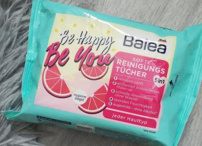 Balea - Chusteczki do demakijażu, Be happy Be you