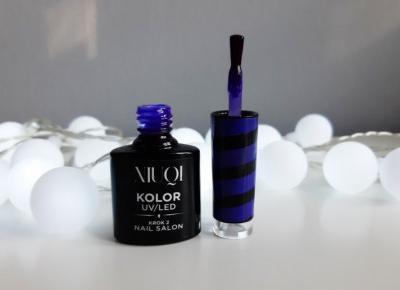 NIUQI - Lakier hybrydowy, Neon Violet