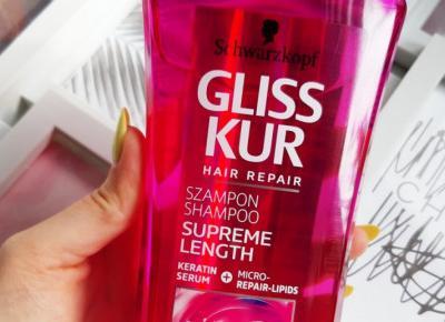 Schwarzkopf - Gliss Kur, Supreme Length, Szampon do włosów długich.