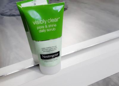 Neutrogena - Visibly Clear, Pore & Shine, Peeling do twarzy.