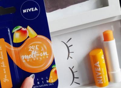 Nivea - Pomadka do ust, Mango Shine.