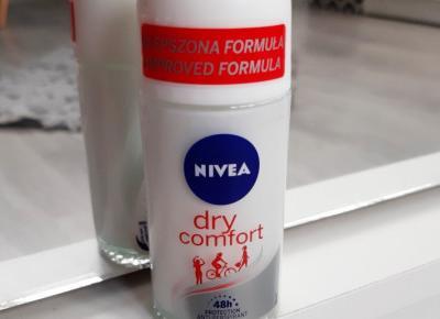 Nivea - Antyperspirant w kulce, Dry Comfort.