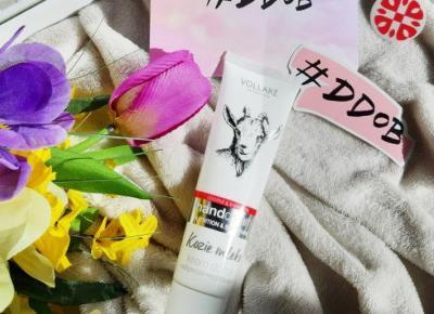 #DDOBSHOP Vollare Cosmetics - Kozie mleko, Krem do rąk, Odżywczo-wygładzający.