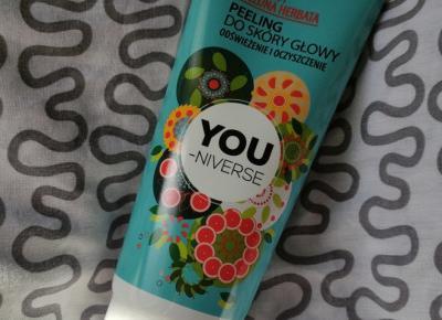 You-Niverse - Peeling do skóry głowy, Grejpfrut i zielona herbata.