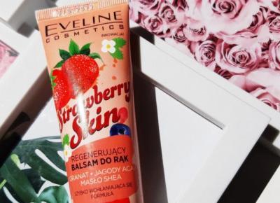 Eveline - Balsam do rąk, Regenerujący, Strawberry Skin.