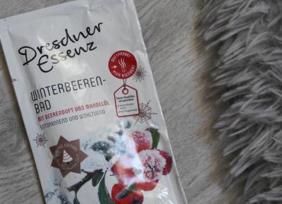 Dresdner Essenz - Sól do kąpieli, Winterbeeren-Bad