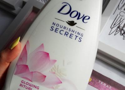 Dove - Nourishing Secrets, Żel pod prysznic, Glowing Ritual.
