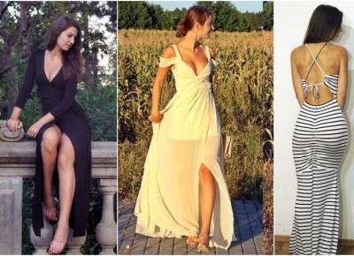 Zacznij od maxi,ta sukienka zmieni Twoje życie