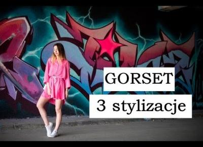 TREND GORSET - 3 stylizacje LOOKBOOK || corset belt 3 looks