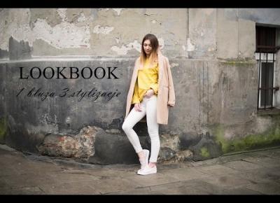 LOOKBOOK WIOSNA 2017 - 1 bluza 3 stylizacje
