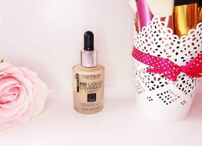 Blondbeauty.pl • blog urodowo-lifestylowy: Catrice HD Liquid Coverage Foundation 020 ROSE BEIGE
