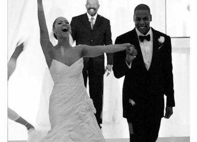 Wreszcie możemy zobaczyć niepublikowane zdjęcia ze ślubu Beyonce i Jay Z.