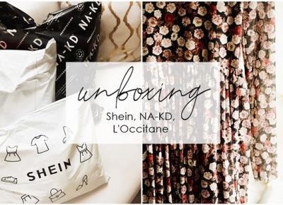 unboxing / Shein, NA-KD, L'Occitane - Ankyls