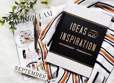 zeszyt pomysłów i inspiracji
