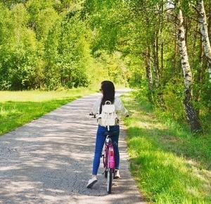 rowerem z daleka od miasta