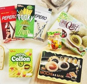 słodkie zamówienie z Azji