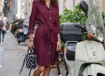 DEEP RED DRESS AS ITALIAN WINE | ANNA WIZENTAL