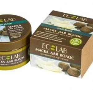 Ecolab - maska aktywizująca wzrost włosów , mój numer jeden !