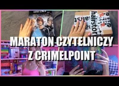 MARATON 24H Z CRIMELPOINT 📚 UNBOXING 📦 HAUL Z BIBLIOTEKI 🛍
