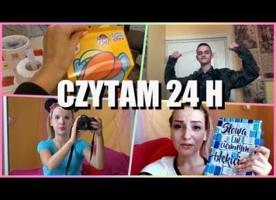 MARATON CZYTELNICZY 24 H 📚 CZYTAMY Z BOOK REVIEWS I MADE BY CAROLINE 💖